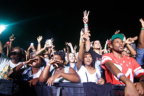 Kendrick Lamar - Williamsburg Park, Brooklyn - September 10th, 2013