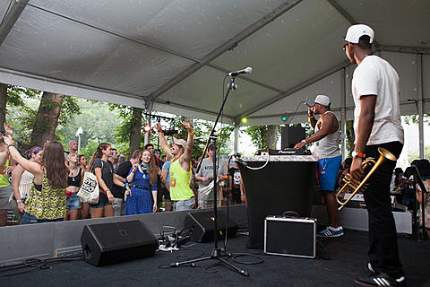 Lollapalooza 2014 - Day 1 - Toyota Soundwave Tent