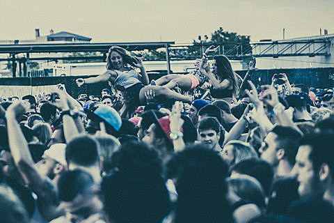 Mad Decent Block Party - Williamsburg Park, NYC - August 10th, 2013
