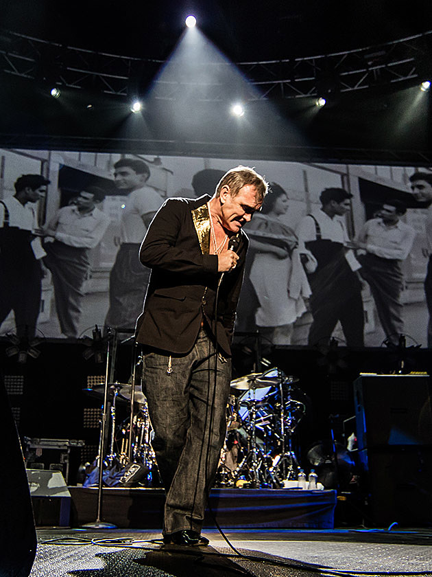 Morrissey And Blondie Played Madison Square Garden Which Didn T Go 100 Vegan After All Pics