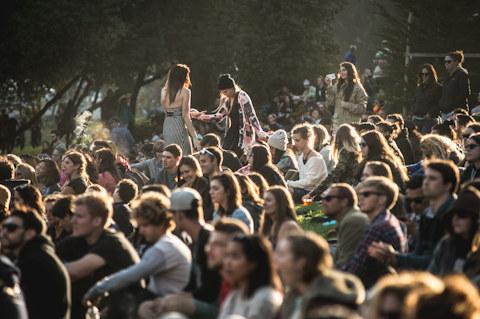 2014 Outside Lands Festival Day 1