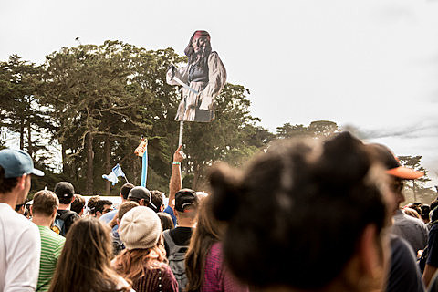 2014 Outside Lands Festival Day 3
