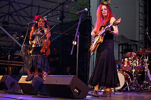 Rosin Coven - Lincoln Center Out of Doors , NYC - August 9th, 2013
