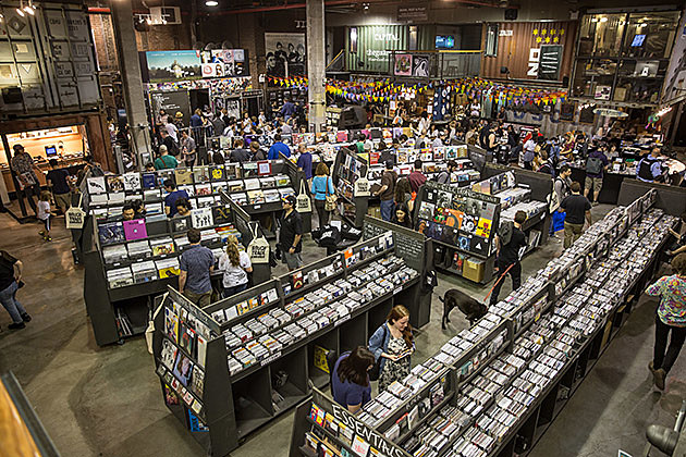Rough Trade NYC on Record Store Day 2015 (more by PSquared)