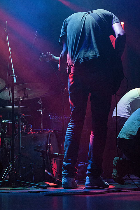 Suuns - Le Poisson Rouge, NYC - photos by Caroline Harrison - September 4th, 2013