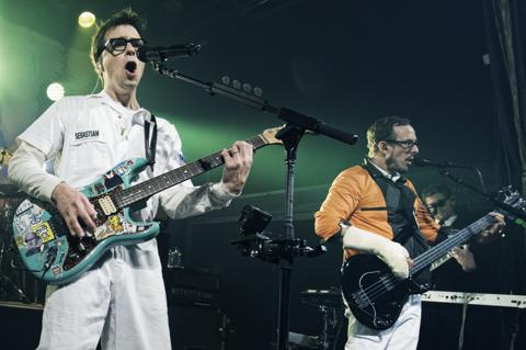 Weezer tour dates in Brisbane