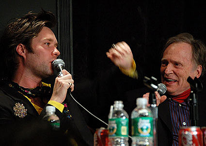 Dave hill, Dick Cavett, & Rufus Wainwright