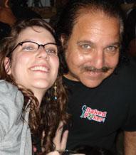 Sarah Schaefer & Ron Jeremy