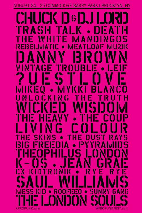 Afropunk 2013