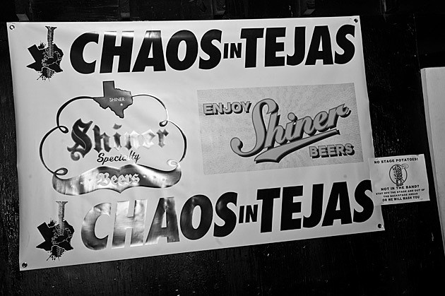 Chaos in Tejas