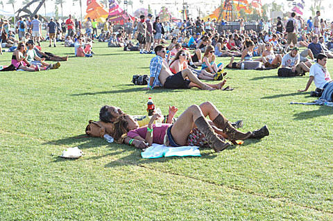 Coachella 2013, Day 3