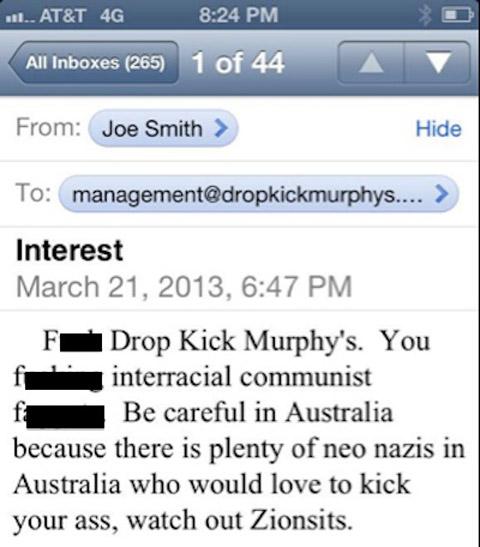 Skinhead email