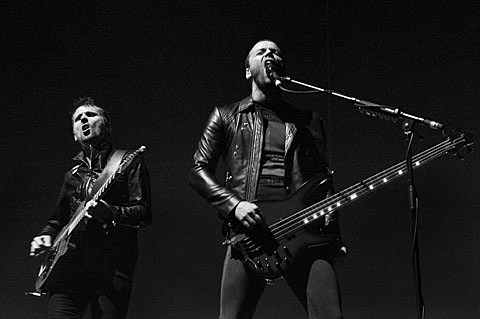 Muse played two nights at MSG w/ Biffy Clyro (who cancelled the