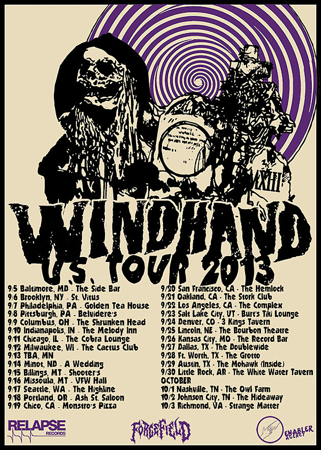 Windhand Tour Admat