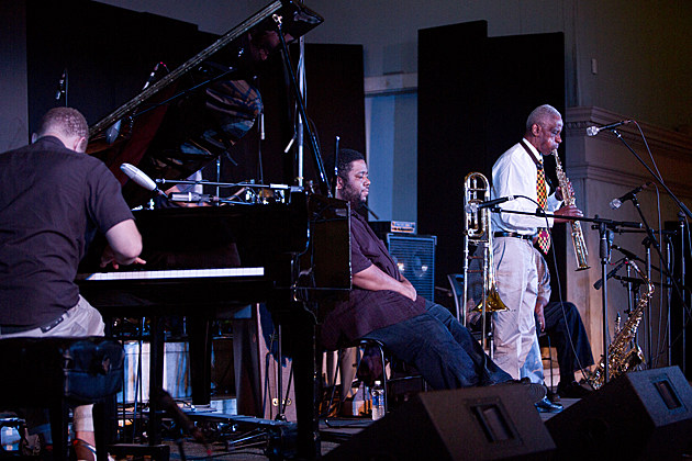 Roscoe Mitchell Trio & Quintet