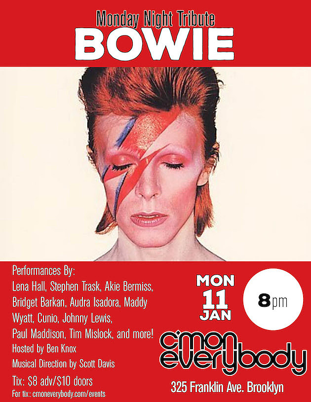 Bowie RIP Tribute