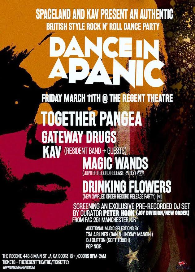 dance in a panic Magic Wands