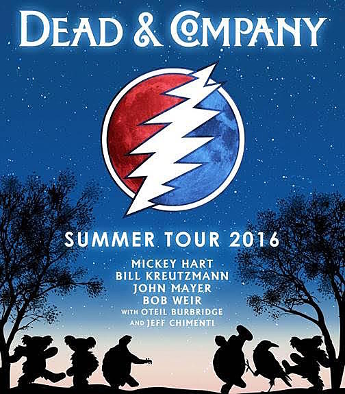 Dead & Company announce 2016 summer tour dates, including two nights