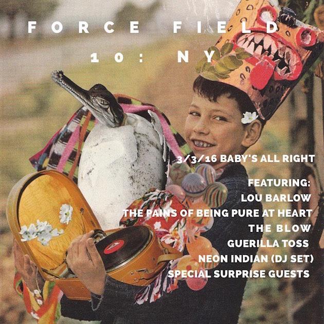 Force Field PR party flyer