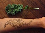 kale tattoo