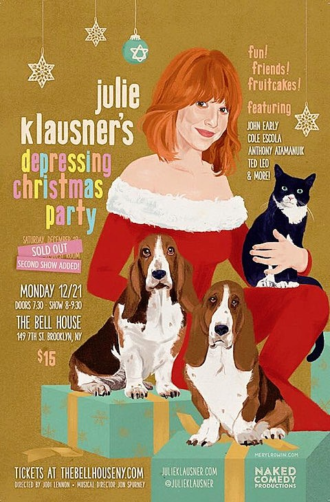 Julie Klausner's Depressing Christmas Party
