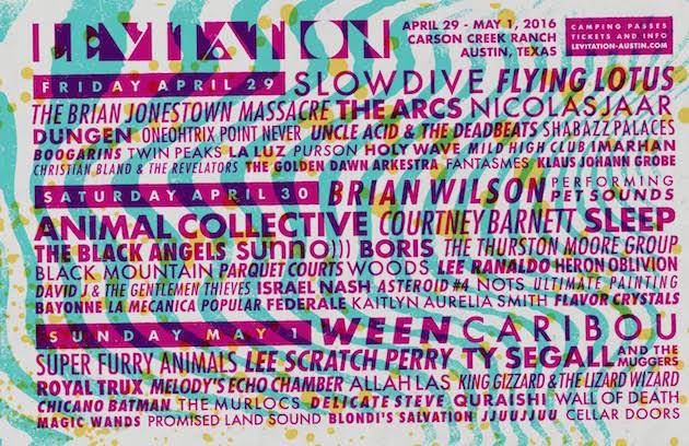 Levitation 2016 Flyer