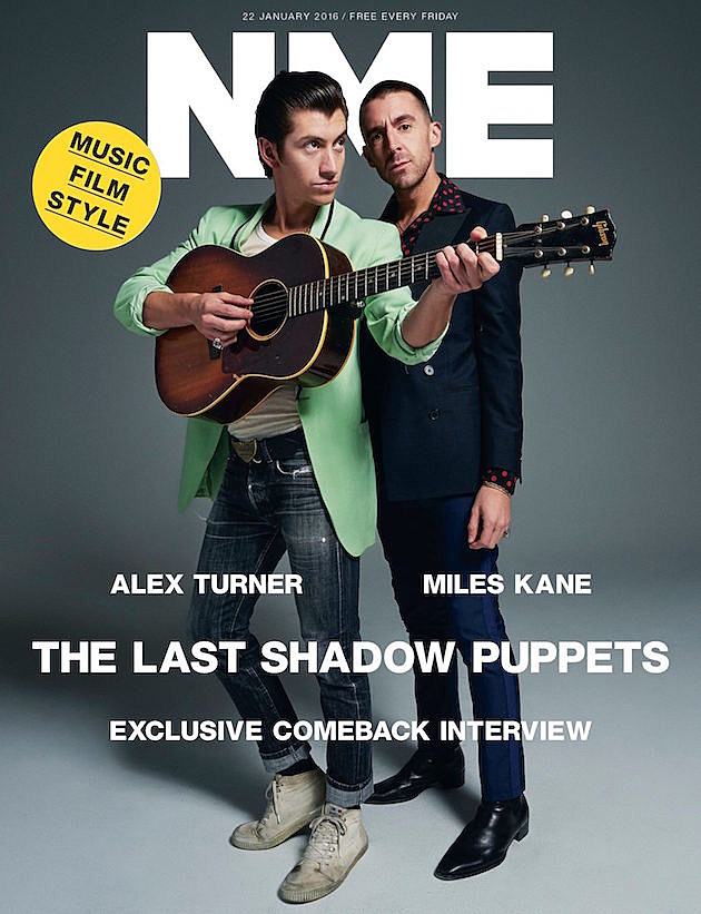Last Shadow Puppets in NME
