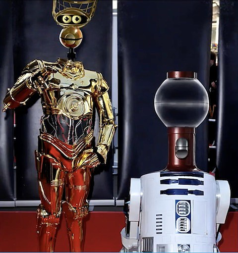 Tom Servo Crow T Robot Star Wars MST3K