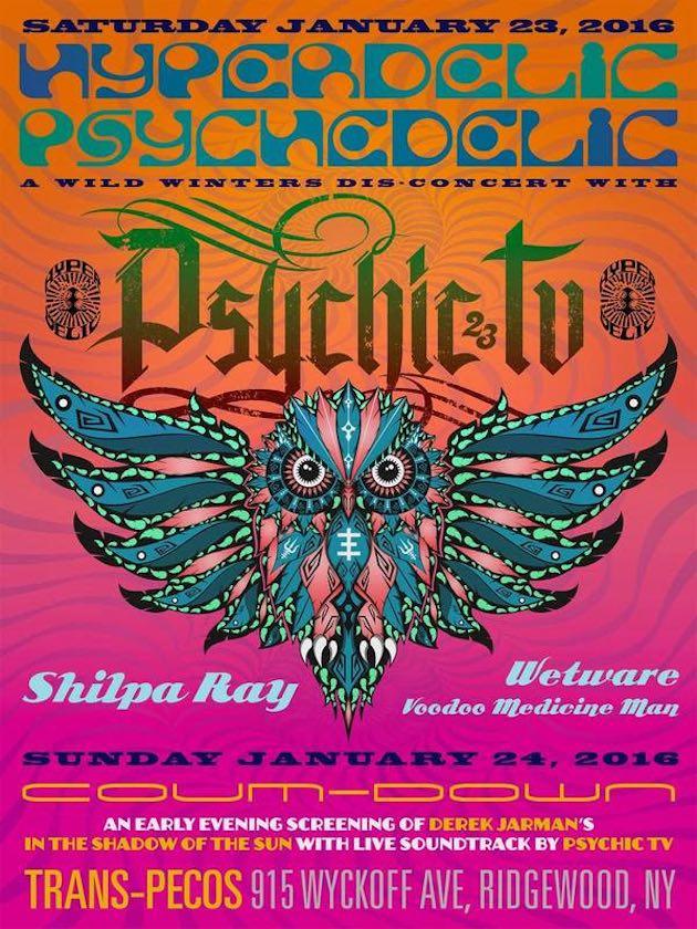 Psychic TV at Trans-Pecos Flyer