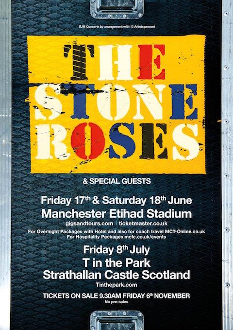 stone roses lemons manchester 2016