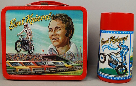 Evel Knievel lunchbox