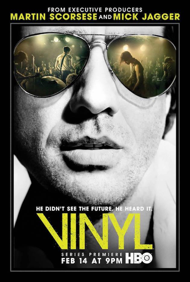 Vinyl Poster HBO