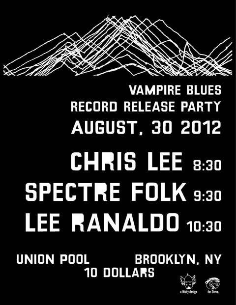 Union Pool Flyer