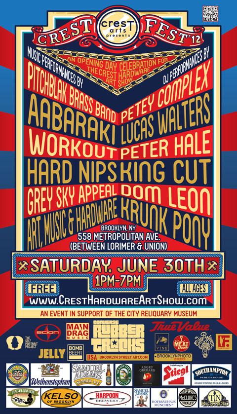 Crest Fest Poster