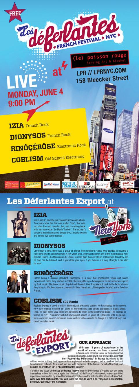 Les Déferlantes French Festival