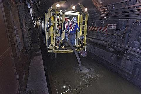Flooded L Train