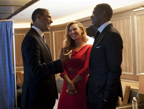 Jay Z Beyonce Obama