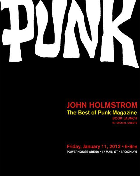 punk book launch