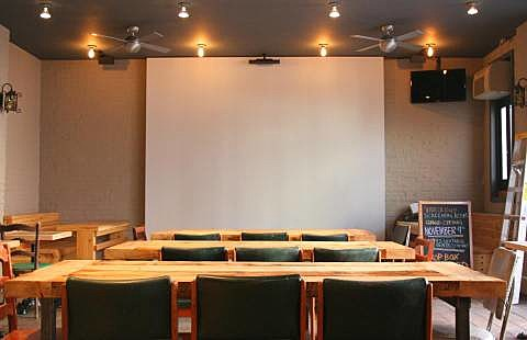 Videology is now a bar, cafe and screening room; Williamsburg ...