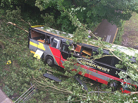 Bus Crash that reportedly involves Baroness