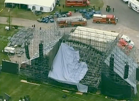 Stage Collapse in Toronto