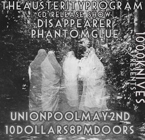 The Austerity Program flyer