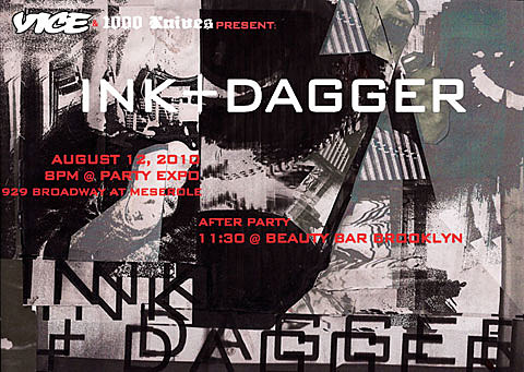 Ink & Dagger flyer