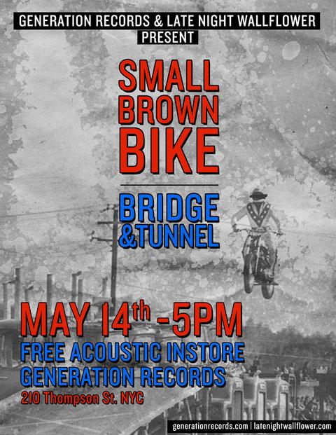 Small Brown Bike flyer