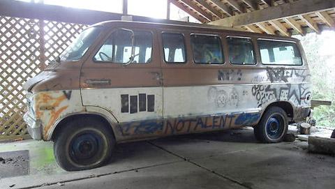 Melvin's van
