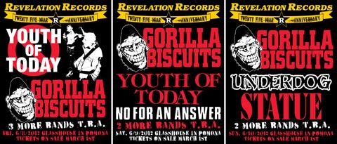 Revelation Records 25th anniversary