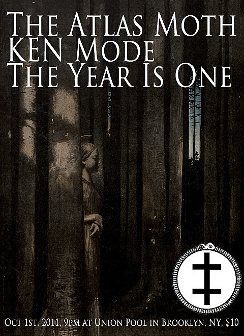 The Atlas Moth / KEN Mode flyer
