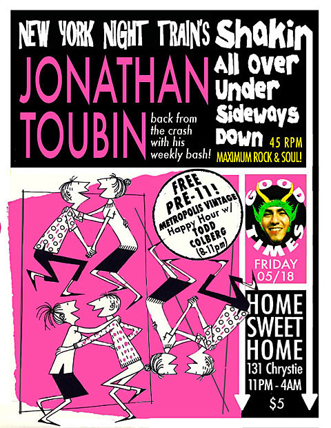 Jonathan Toubin on 5/18