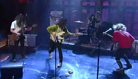Ty Segall on Late Show with David Letterman, 11/5/12
