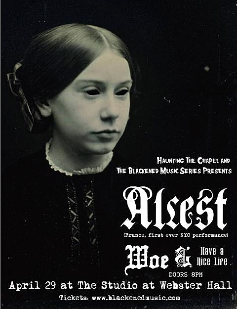 Alcest at Studio Webster